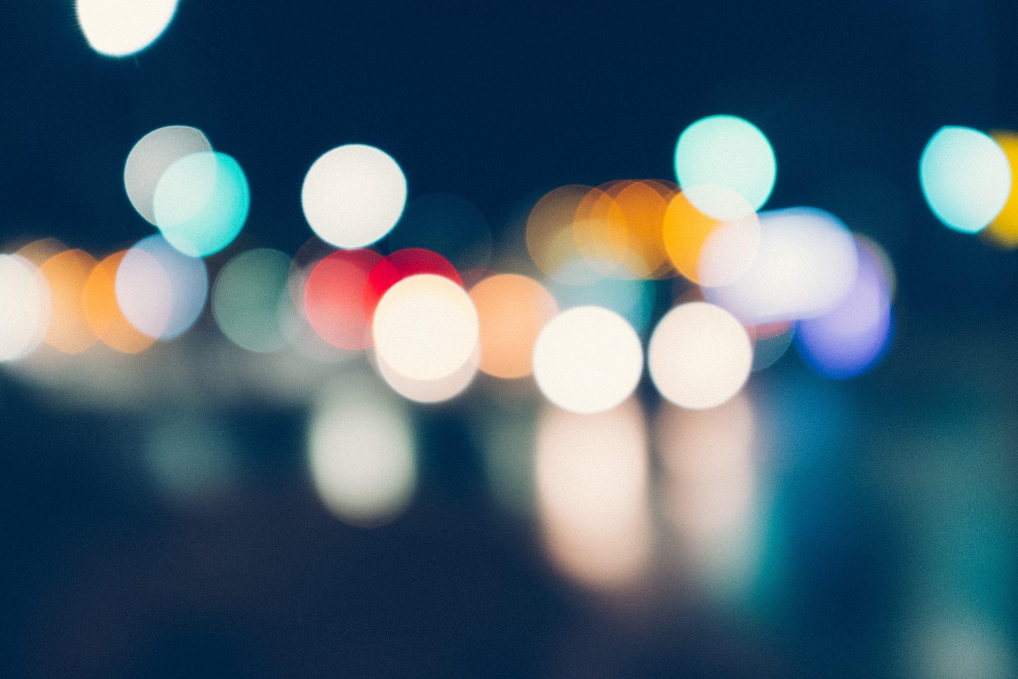 unfocused lights